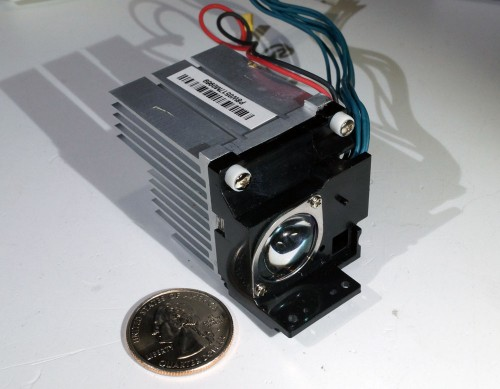 Casio xj-a140 projector red led assembly.