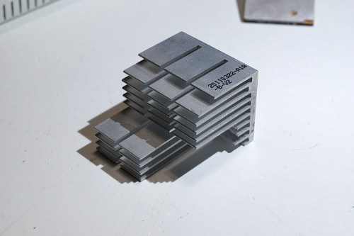 modified heatsink detail