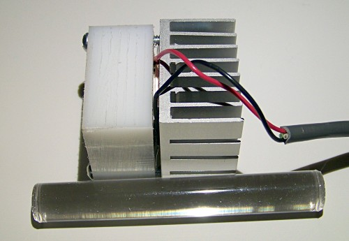 uv led lamp assembly detail