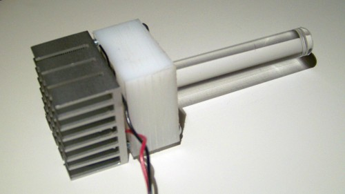 uv led lamp assembly detail 1