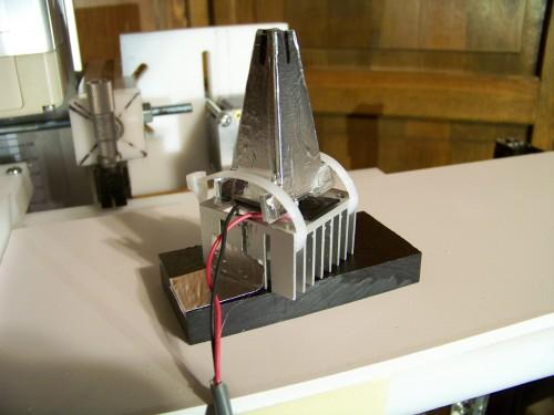 Light funnel for uv led