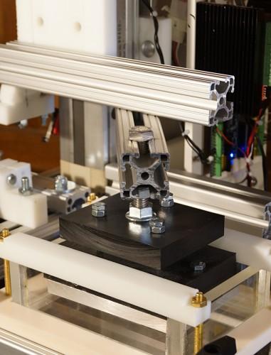 3d printer build plate carriage arm