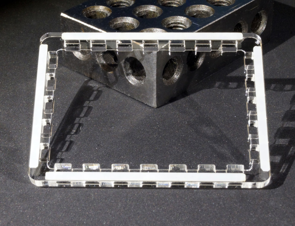 Support Plate With Spacers